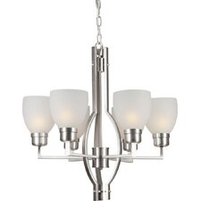 <strong>Forte Lighting</strong> 6 Light Chandelier