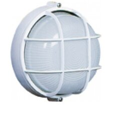 1 Light Round Wall Sconce