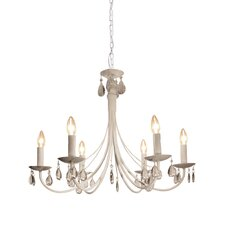 Terramo 6 Light Candle Chandelier