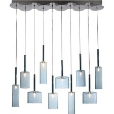 Berlinetta 10 Light Kitchen Island Pendant