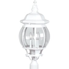 Classico 4 Light Outdoor Post Lantern