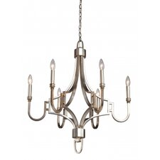 Lexington 6 Light Candle Chandelier