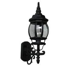 Classico 1 Light Up Light Outdoor Wall Lantern