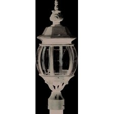 Classico 3 Light Outdoor Post Lantern