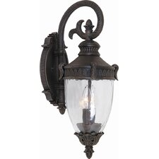 Imperial 3 Light Outdoor Wall Lantern