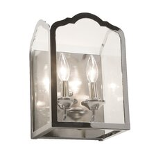<strong>Artcraft Lighting</strong> Cambridge 2 Light Wall Sconce