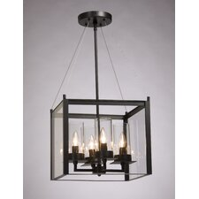 Crawford 4 Light Foyer Pendant
