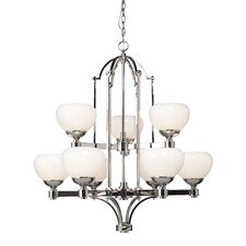 Lincoln 9 Light Chandelier