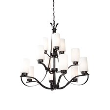 Russell Hill 12 Light Chandelier