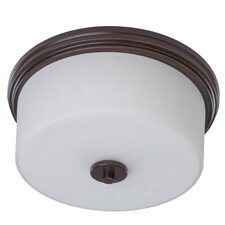 <strong>Artcraft Lighting</strong> Russell Hill 2 Light Flush Mount