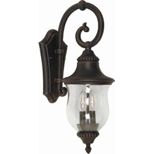 <strong>Artcraft Lighting</strong> Premiere 2 Light Outdoor Wall Lantern