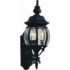 <strong>Artcraft Lighting</strong> Classico 3 Light Outdoor Wall Lantern