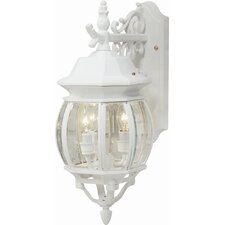 Classico 3 Light Outdoor Wall Lantern