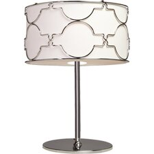 "Morocco 23.75"" H Table Lamp with Drum Shade"