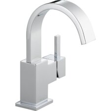 Vero Single Hole Bathroom Faucet with Metal Pop-Up Drain