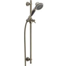 Slide Bar Hand Shower Valve with Straight Handle