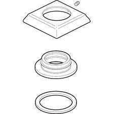 Dryden Handle Base with Gasket and Set Screw