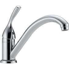 Classic Single Handle Single Hole Kitchen Faucet with Diamond Seal Technology