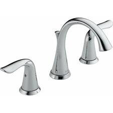 Lahara Widespread Bathroom Faucet with Double Lever Handles