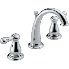 """5 1/2"""" Leland Widespread Bathroom Faucet with Pop-Up Drain"""