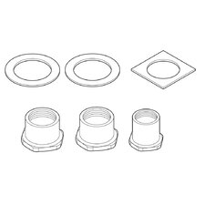 Thick Deck Mounting Kit for Waterfall 2 Handle Kitchen Faucet