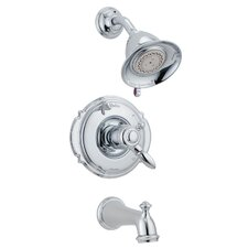 Victorian Pressure Balanced Tub and Shower Faucet Trim with Volume Control