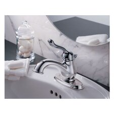 Leland Centerset Bathroom Faucet with Single Lever Handle and Diamond Seal Technology