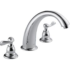 Foundations Windemere Double Handle Deck Mount Roman Tub Faucet Trim