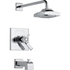 <strong>Delta</strong> Arzo 17T Series Temp Assure Diverter Tub and Shower Faucet Trim