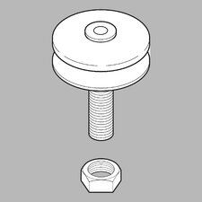 Rod Guide Assembly for Bidet