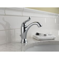 <strong>Delta</strong> Linden Single Hole Bathroom Faucet with Single Handle