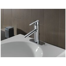 Compel Single Handle Single Hole Bathroom Faucet