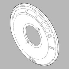 <strong>Delta</strong> Replacement Escutcheon