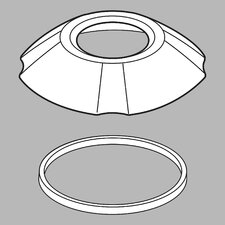 Addison Roman Tub Handshower Base and Gasket
