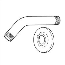 <strong>Delta</strong> Replacement Shower Arm and Flange