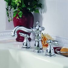 Victorian Double Handle Deck Mount Roman Tub Faucet