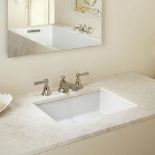 Verticyl Rectangular Undermount Bathroom Sink