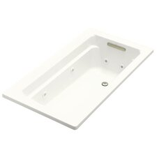 "<strong>Kohler</strong> Archer 60"" X 32"" Drop-In Whirlpool Bath with Heater"