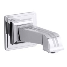 "Pinstripe Wall-Mount, 6-7/8"" Non-Diverter Bath Spout"