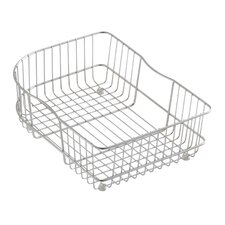 Wire Rinse Basket for Use In Executive Chef and Efficiency Kitchen Sinks