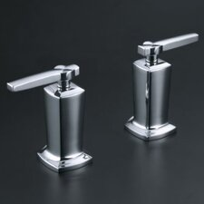 <strong>Kohler</strong> Margaux Deck-Mount High-Flow Bath Valve Trim with Lever Handles, Valve Not Included