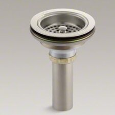 Duostrainer Sink Strainer with Tailpiece