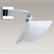 Loure 2.5 GPM Single-Function Showerhead with Arm and Flange