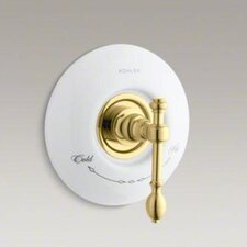 <strong>Kohler</strong> Iv Georges Brass Thermostatic Valve Trim with Lever Handle, Valve Not Included