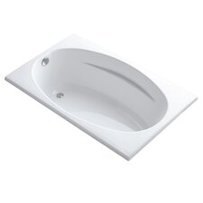 "Rêve 67"" X 32"" Freestanding Bath with Float Installation and Brilliant Ash Base Without Jet Trim"