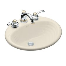 "Ellington Self-Rimming Lavatory with 4"" Centers"