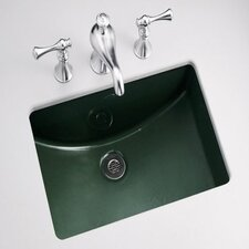 DO NOT SET LIVE!Ladena Undermount Bathroom Sink with Glazed Underside
