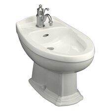 Portrait Bidet with Single-Hole Faucet Drilling