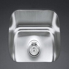 "Undertone 18-1/2"" X 15-3/4"" X 8"" Under-Mount Single-Bowl Kitchen Sink"