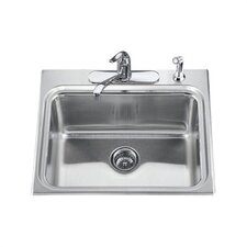 "Ballad 25"" x 22"" Self-Rimming Utility Sink"